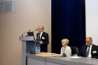 Welcoming speech by G.Sapozhnikov