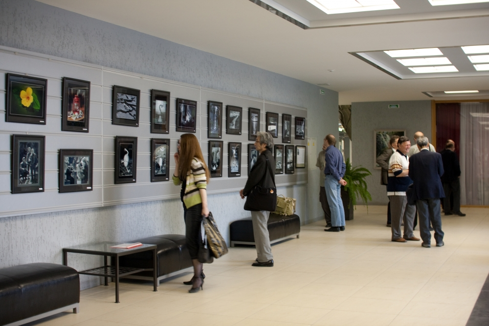 Picture-gallery in the House of Scientists